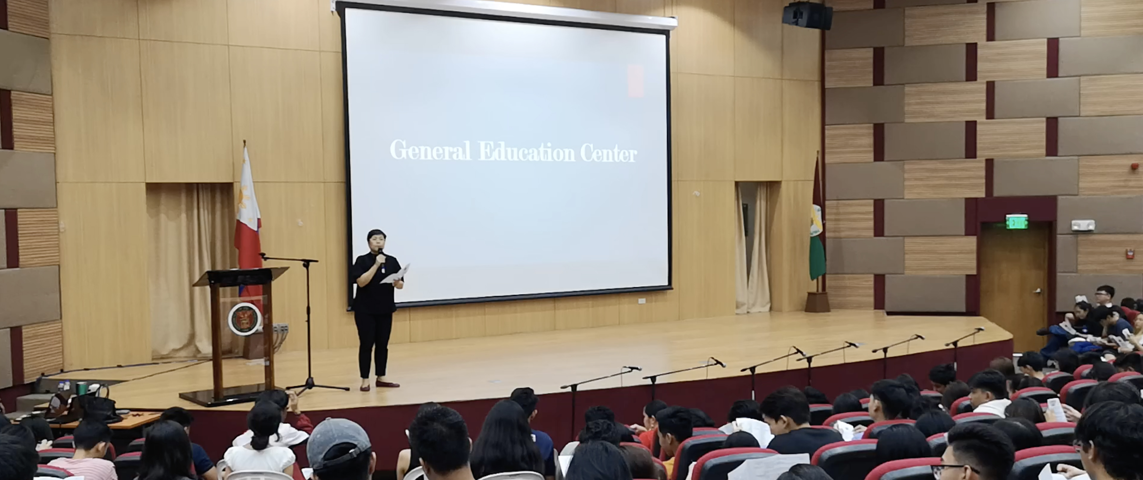 GEC Welcomes Freshies with the 2017 General Education Program