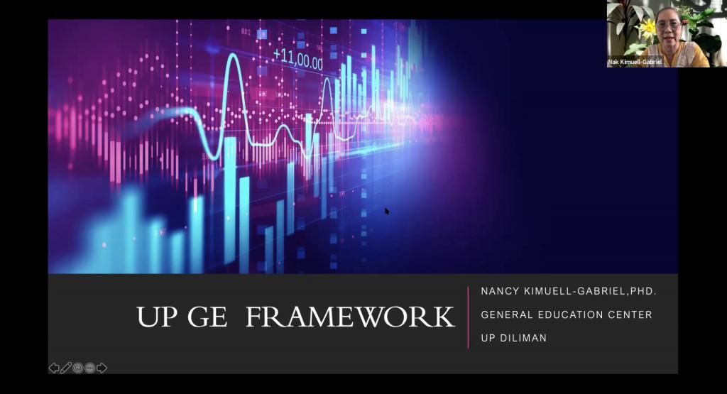 Ma'am Nak Presents the UP GE Framework